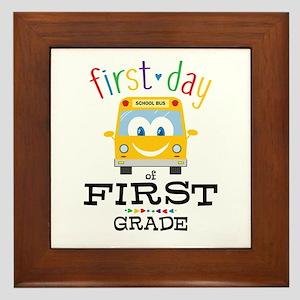 First Grade Framed Tile