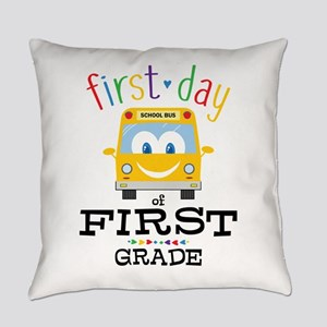 First Grade Everyday Pillow