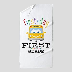 First Grade Beach Towel