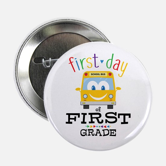 "First Grade 2.25"" Button"
