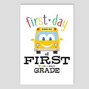 First Grade Postcards (Package of 8)