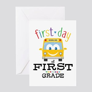 First Grade Greeting Card