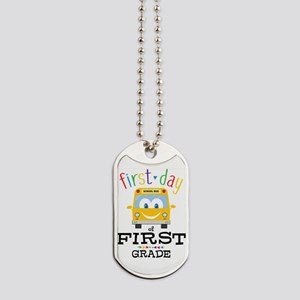 First Grade Dog Tags