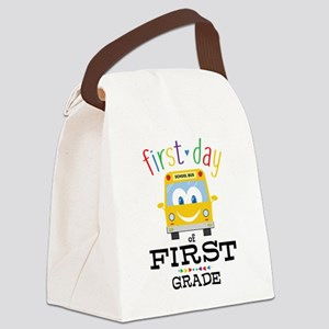 First Grade Canvas Lunch Bag