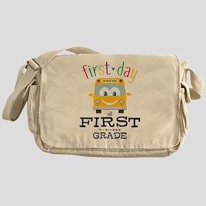 First Grade Messenger Bag