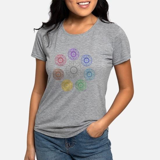 seven chakra circle T-Shirt