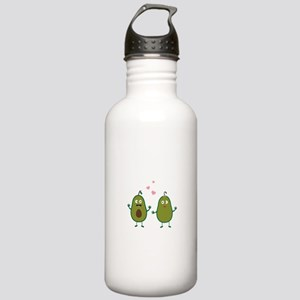 Avocados in love Stainless Water Bottle 1.0L