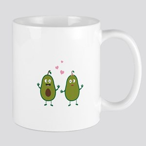 Avocados in love Mugs