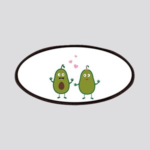 Avocados in love Patch