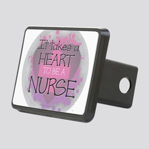 It Takes a Heart to be a N Rectangular Hitch Cover