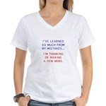 I've Learned So Much From My Women's V-Neck T-Shi