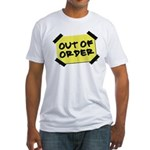 Out of Order Fitted T-Shirt