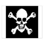 Skull & Crossbones Small Poster