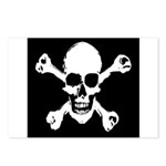 Skull & Crossbones Postcards (Package of 8)