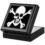 Skull & Crossbones Keepsake Box