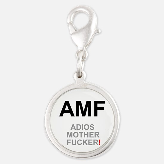 TEXTING SPEAK - - AMF ADIOS MOTHER FUCKER! Charms