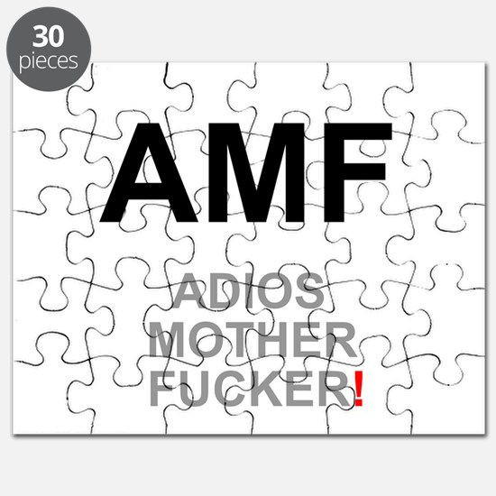 TEXTING SPEAK - - AMF ADIOS MOTHER FUCKER! Puzzle