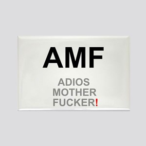 TEXTING SPEAK - - AMF ADIOS MOTHER FUCKER! Magnets