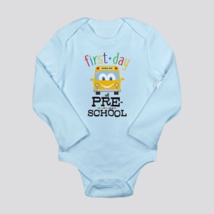 Preschool Long Sleeve Infant Bodysuit