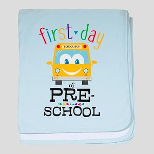 Preschool baby blanket