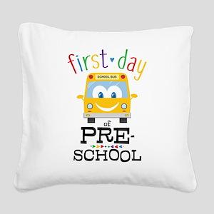 Preschool Square Canvas Pillow