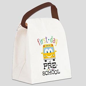 Preschool Canvas Lunch Bag