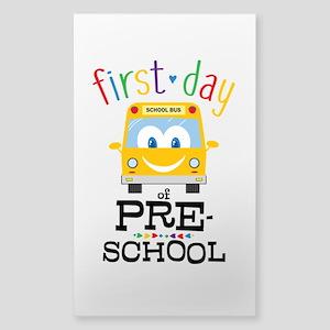 Preschool Sticker (Rectangle)