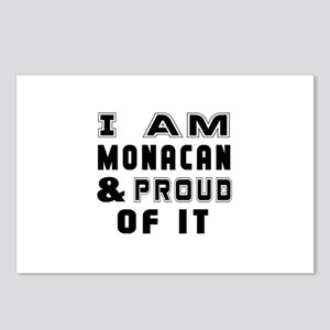 I Am Monacan And Proud Of Postcards (Package of 8)