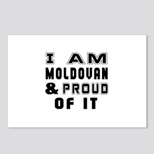 I Am Moldovan And Proud O Postcards (Package of 8)