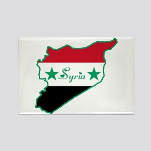 Cool Syria Rectangle Magnet