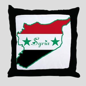 Cool Syria Throw Pillow