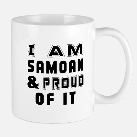 I Am Samoan And Proud Of It Mug
