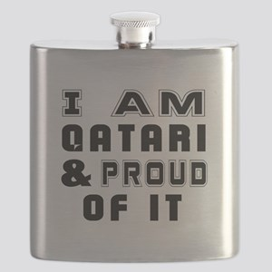 I Am Qatari And Proud Of It Flask
