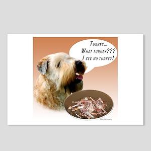 Wheaten Turkey Postcards (Package of 8)