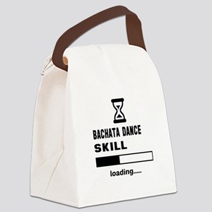 Bachata dance skill loading.... Canvas Lunch Bag