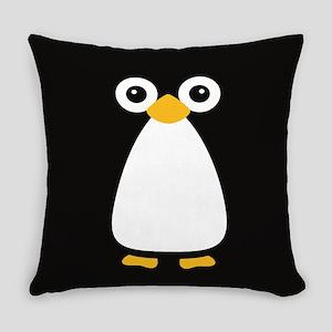 Cute Vector Penguin Everyday Pillow