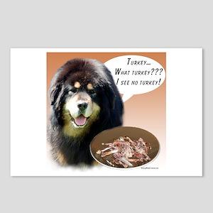 Tibetan Mastiff Turkey Postcards (Package of 8)