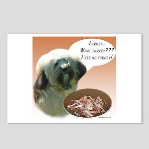 Tibetan Terrier Turkey Postcards (Package of 8)