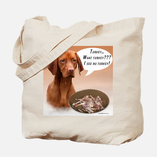 Vizsla Turkey Tote Bag