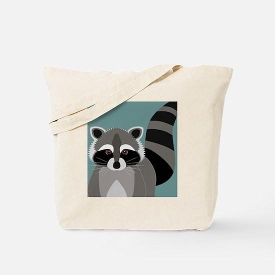 Raccoon Rascal Tote Bag