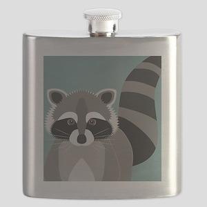 Raccoon Rascal Flask