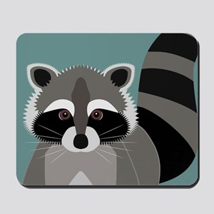 Raccoon Rascal Mousepad