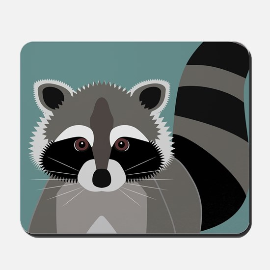 Raccoon Rascal Mousepad