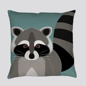 Raccoon Rascal Everyday Pillow