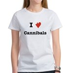I Love Cannibals Women's T-Shirt