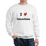 I Love Cannibals Sweatshirt