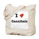 I Love Cannibals Tote Bag