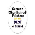 German Shorthair Pointers Best Of Breeds Sticker