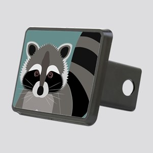 Raccoon Rascal Rectangular Hitch Cover