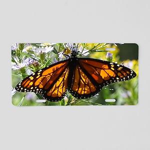 Monarch Aluminum License Plate